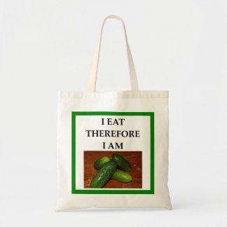 pickles tote bag
