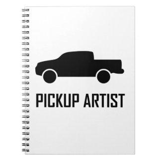 Pickup Artist Truck Notebook