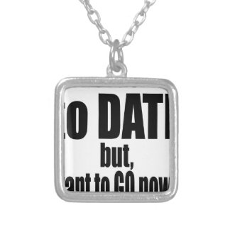 pickup line asking date black awesome party couple silver plated necklace