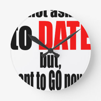 pickup line asking date red awesome party couple n wallclock