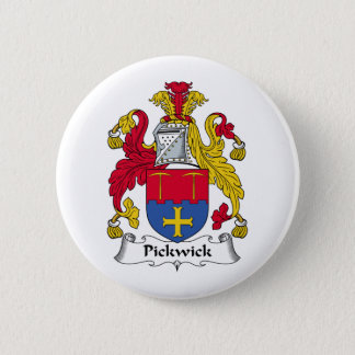 Pickwick Family Crest 2 Inch Round Button