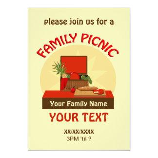 Picnic Basket Family Picnic Reunion Invite