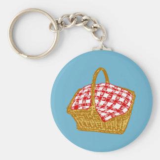 Picnic Basket Keychain