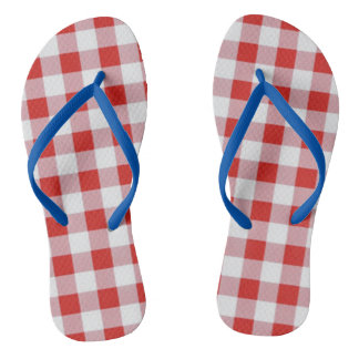 Picnic-Checks-Summer-Fun(C)Multi-Styles Flip Flops