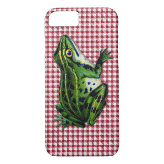 Picnic Frog iPhone 7 Case