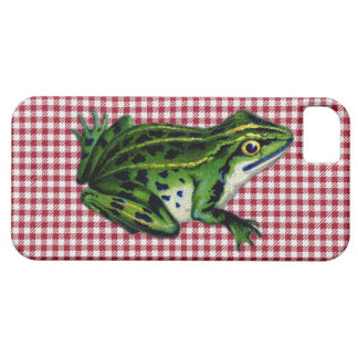 Picnic Frog Print iPhone 5 Cover
