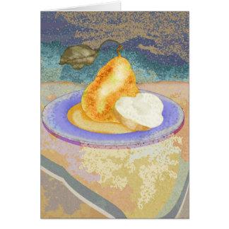 Picnic Pear Card