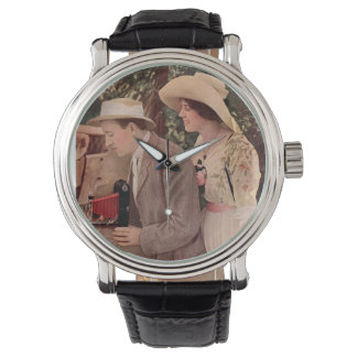 Picnic With The Roadster. Circa 1912. Wrist Watch