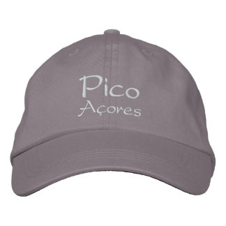 Pico - Azores Embroidered Hat