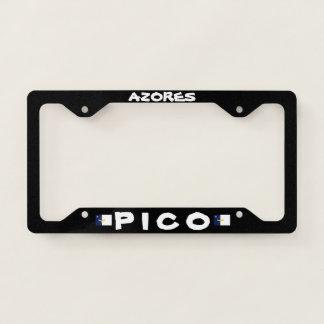 Pico Azores License Plate Frame