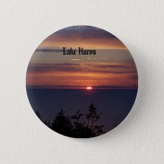 pics 154, Lake Huron 2 Inch Round Button