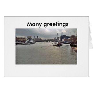 PICT0052 5X5, many greetings, Many greetings Card