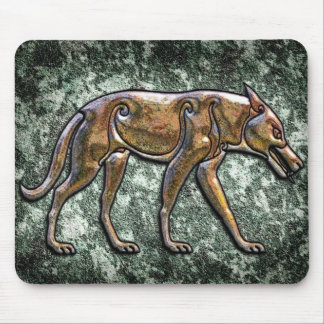 Pictish Wolf Mousemat Mouse Pad