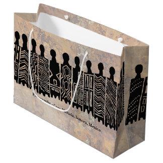 Pictographs - Casa Pintada, Sonora, Mexico Large Gift Bag