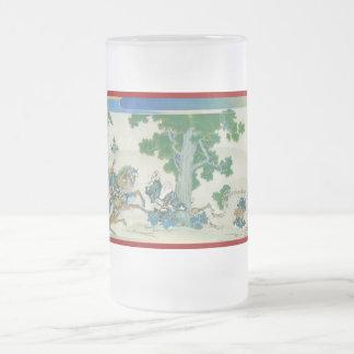 Pictorial Life of Nichiren Shonin pt.15 16 Oz Frosted Glass Beer Mug