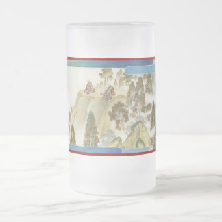 Pictorial Life of Nichiren Shonin pt.23 Frosted Glass Mug