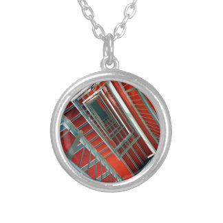 PICTURE 101 SILVER PLATED NECKLACE