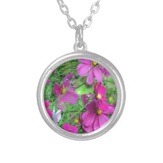 PICTURE 128 SILVER PLATED NECKLACE