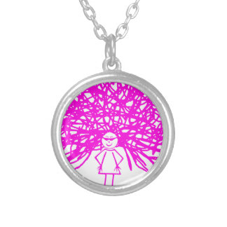 PICTURE 134 SILVER PLATED NECKLACE