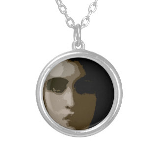 PICTURE 55 SILVER PLATED NECKLACE