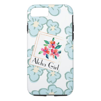 Picture a Happy Hawaiian Floral iPhone 7 Case
