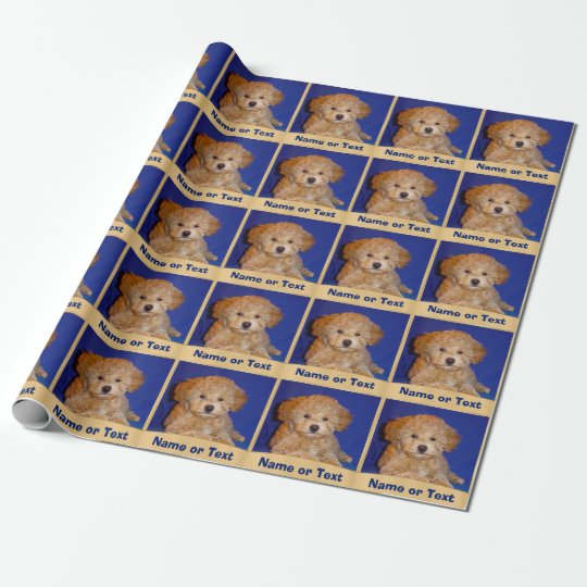 Picture and Personalized Gift Wrapping Paper