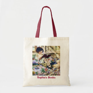 Picture Books in Winter by Jessie Willcox Smith Tote Bag