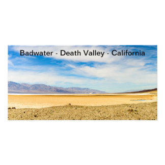 Picture Card Badwater Death Valley California 4X8""