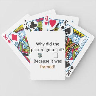 Picture Joke Poker Deck