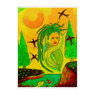 Picture Nature, Creative Woman Acrylic Wall Art