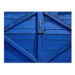 Picture of Blue wooden door