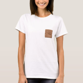 Picture of Brown Wood. T-Shirt