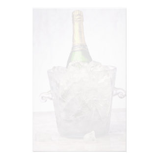 Picture of Champagne in glass ice bucket Stationery