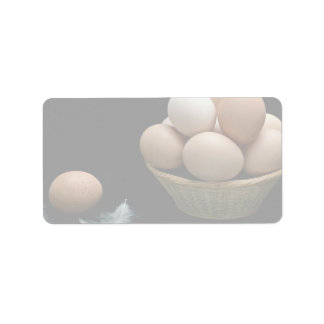 Picture of Eggs arranged in a bowl