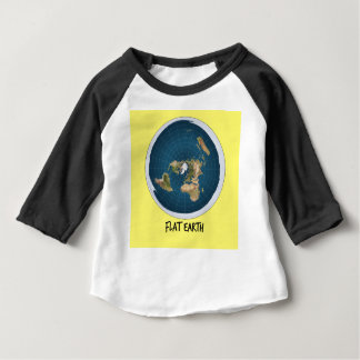 Picture Of Flat Earth Baby T-Shirt