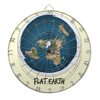 Picture Of Flat Earth Dartboard