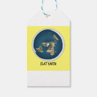 Picture Of Flat Earth Gift Tags
