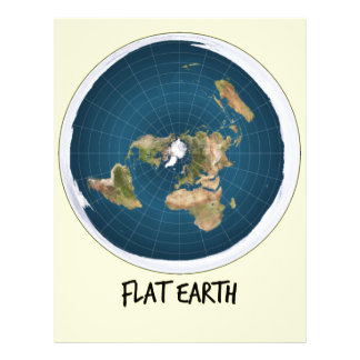 Picture Of Flat Earth Letterhead