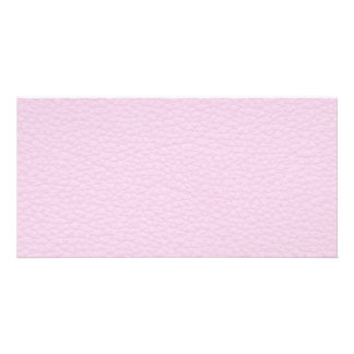Picture of Light Pink Leather. Photo Card