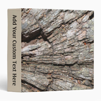 Picture of Old Tree Stump Wood 3 Ring Binder