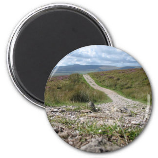 Picture Of Path In Lake District Taken From The Gr Refrigerator Magnets
