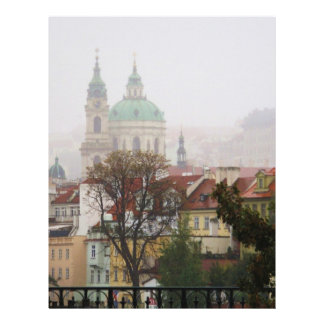 Picture of Prague Personalized Letterhead