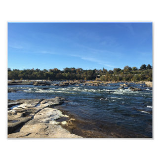 Picture of the James River Photo Print