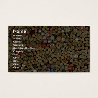 Picture of Wine corks Business Card