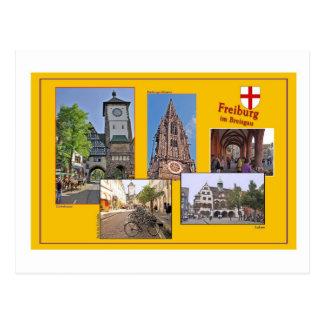 Picture postcard Freiburg in mash gau