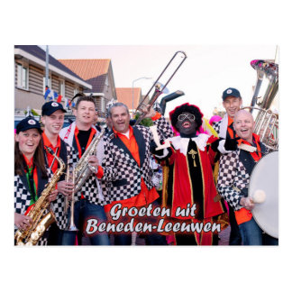 Picture postcard Piet of Vliet