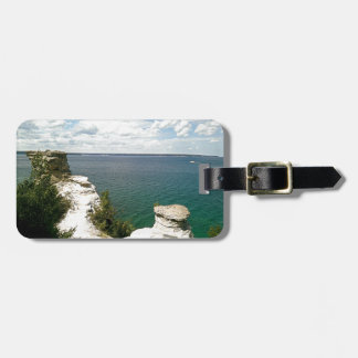 Picture rocks bag tag