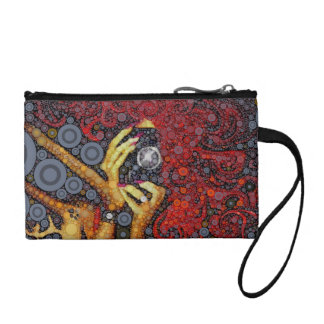 Picture This Abstract Art Coin Wallet