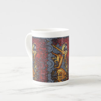 Picture This Abstract Art Porcelain Mugs