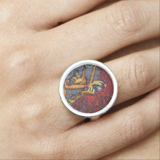 Picture This Abstract Art Ring